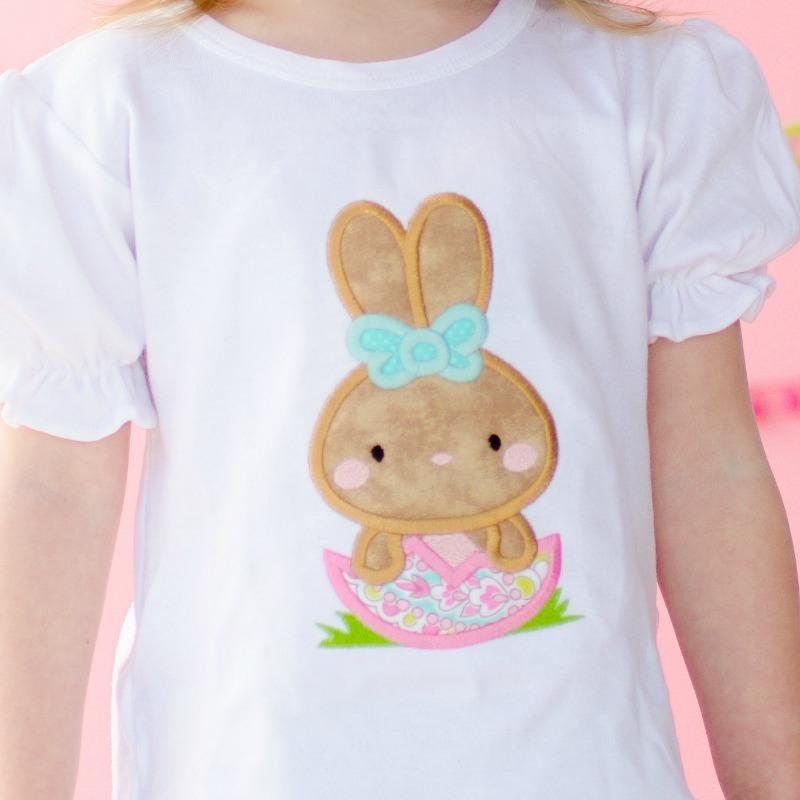 d44b32db69 Hatching Bunny Applique Design