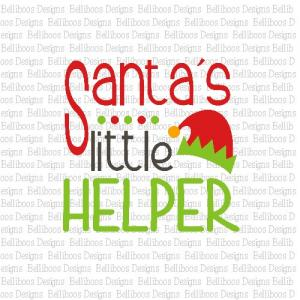 Belliboos Santa S Helper Svg Cut Files